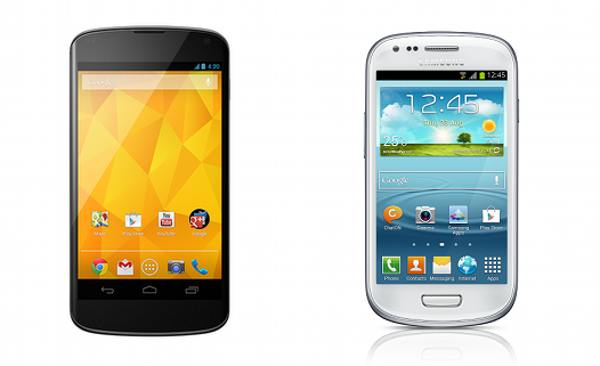 So sánh LG Google Nexus 4 vs Samsung Galaxy S3 Mini chi tiết - 1