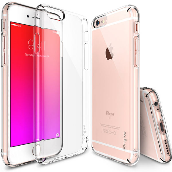 Ốp lưng iphone 6S Plus Ringke Trong suốt 360 mỏng gọn từ Mỹ - 2