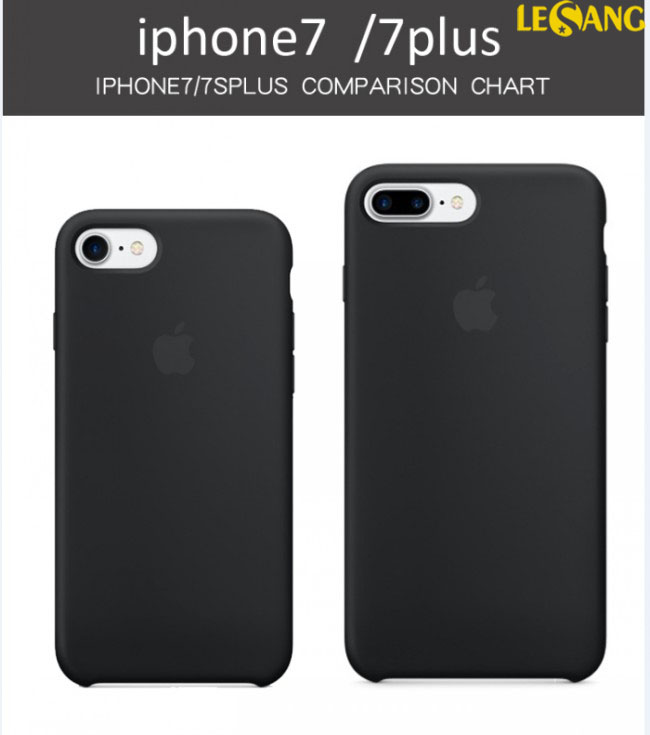 Ốp lưng iphone 7 Plus Apple Case Silicon chính hãng 100%, Full Box - 4