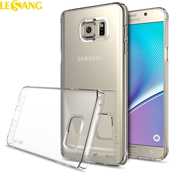 Ốp lưng Note 5 Ringke Trong suốt 360 mỏng gọn từ Mỹ - 2