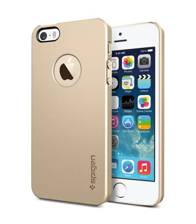 Ốp lưng Iphone 5 SGP Gold