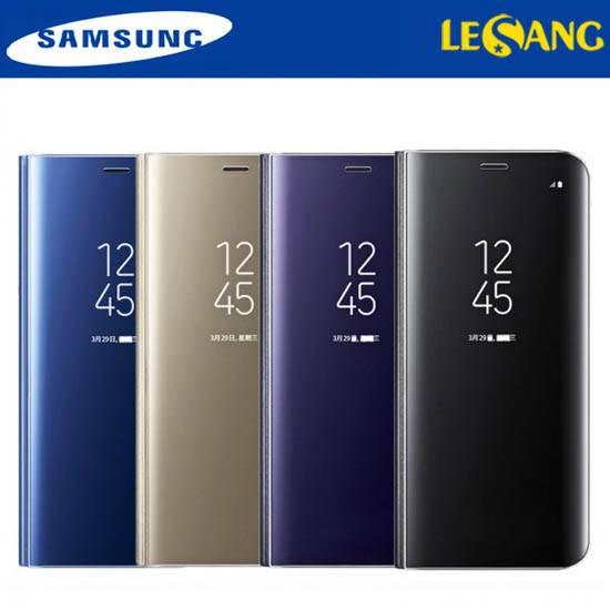 Bao da Clear View Galaxy S8 Standing 2017 chính hãng (Full Box)