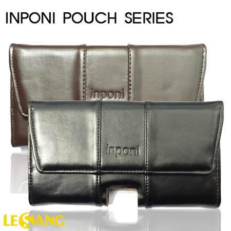 Bao da đeo thắt lưng điện thoại INPONI Pouch Series