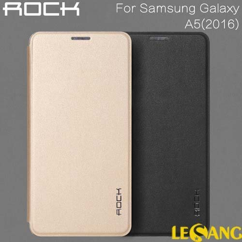 Bao da Galaxy A5 2016 Rock Touch siêu mỏng