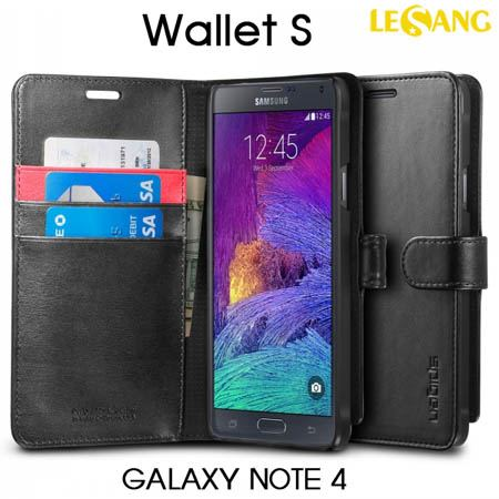 Bao da Galaxy Note 4 SGP Wallet S (USA)