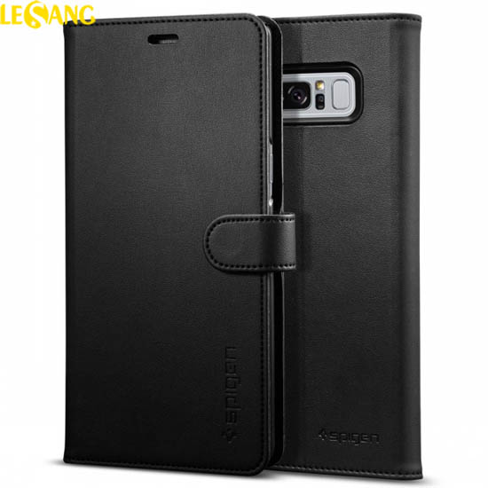 Bao da Galaxy Note 8 Spigen Wallet S ví đa năng