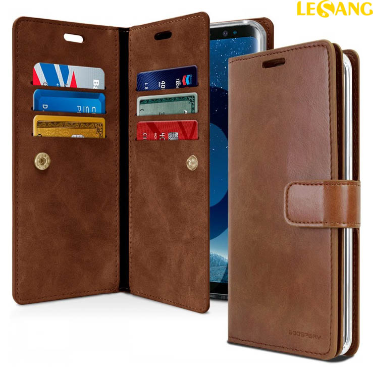 Bao da Galaxy S9 Plus Mercury Mansoor Wallet Diary Case