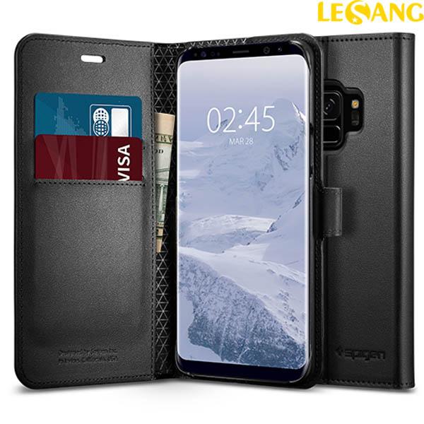 Bao da Galaxy S9 Spigen Wallet S ví đa năng