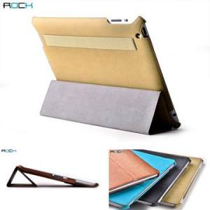 Bao da IPAD 3, 4 ROCK Texture Leather