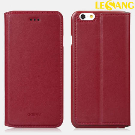 Bao da iphone 6 GGMM Kiss Cover da thật