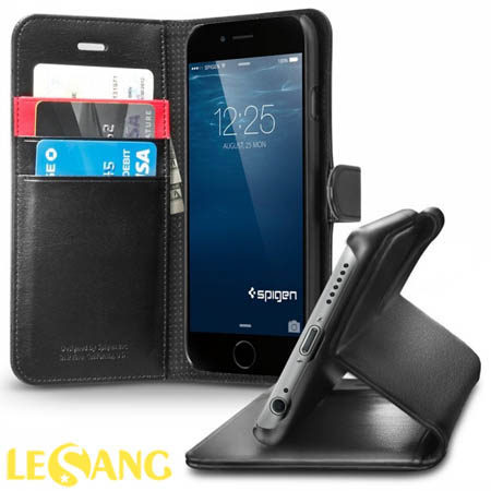 Bao da iphone 6S/6 SGP (Spigen) Wallet S (USA)