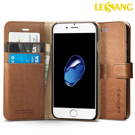 Bao da iphone 7 Plus Spigen Wallet S