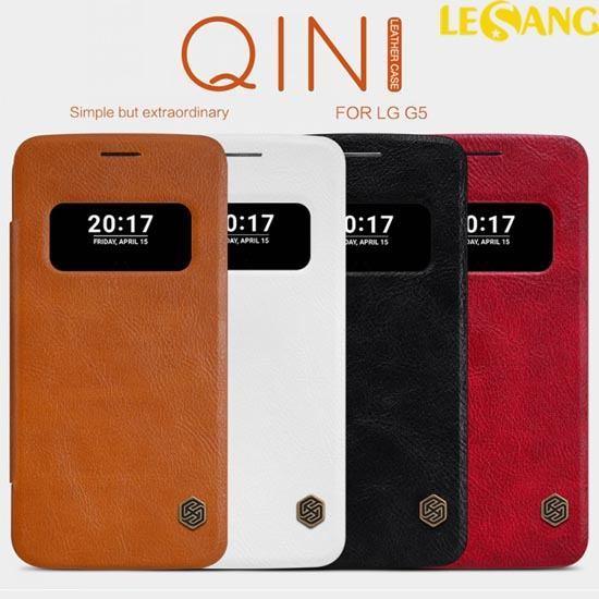 Bao da LG G5 SE / G5 Nillkin QIN View Cover