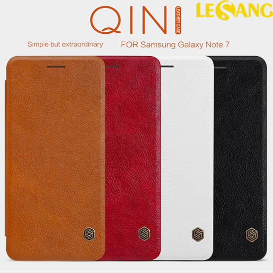 Bao da Note 7 / Note FE Nillkin QIN Leather
