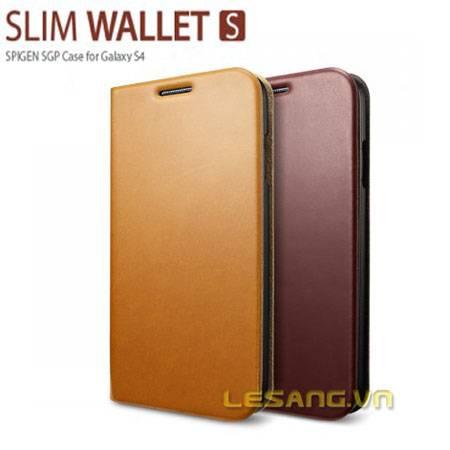 Bao da galaxy S4 SGP Wallet S