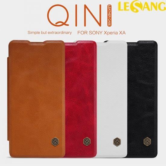 Bao da Sony Xperia XA Nillkin QIN Leather