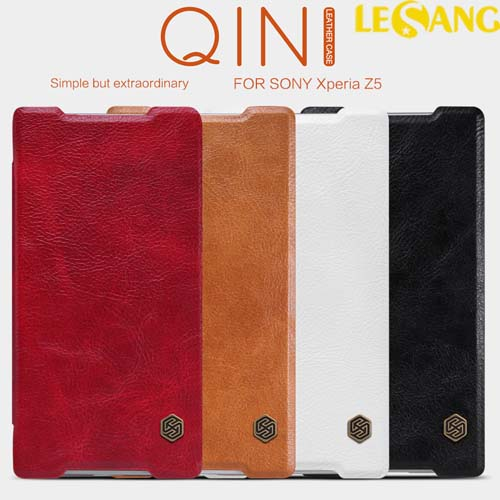 Bao da Sony Xperia Z5 Nillkin QIN Leather