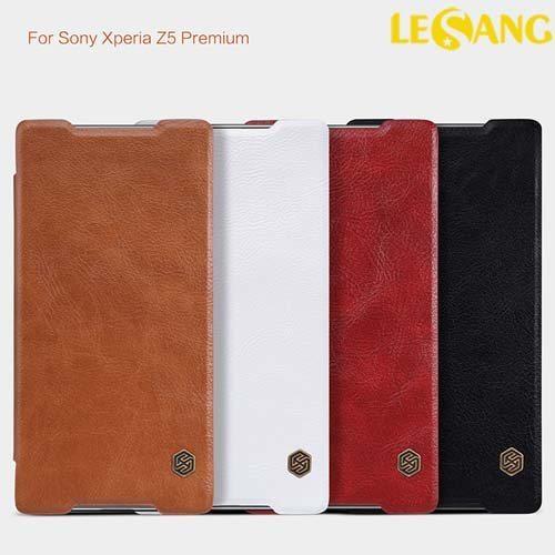 Bao da Sony Z5 Premium Nillkin QIN Leather