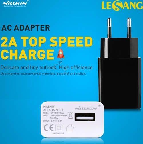 Cục sạc nhanh 2A Nillkin AC Adapter