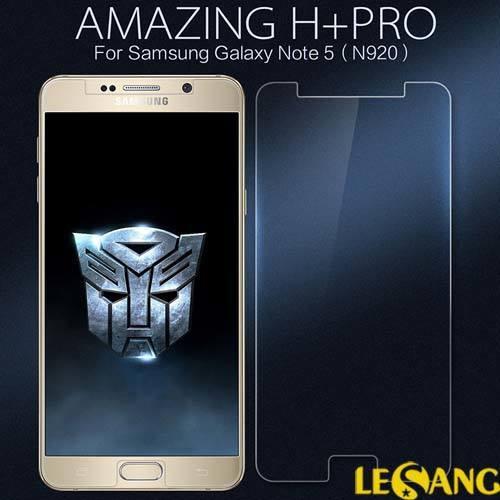 Dán kính cường lực Galaxy Note 5 Nillkin PRO H+