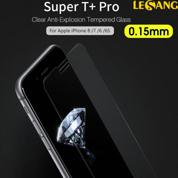 Dán kính cường lực iPhone 8 Plus / 7 Plus Nillkin T+ Pro 0.15mm