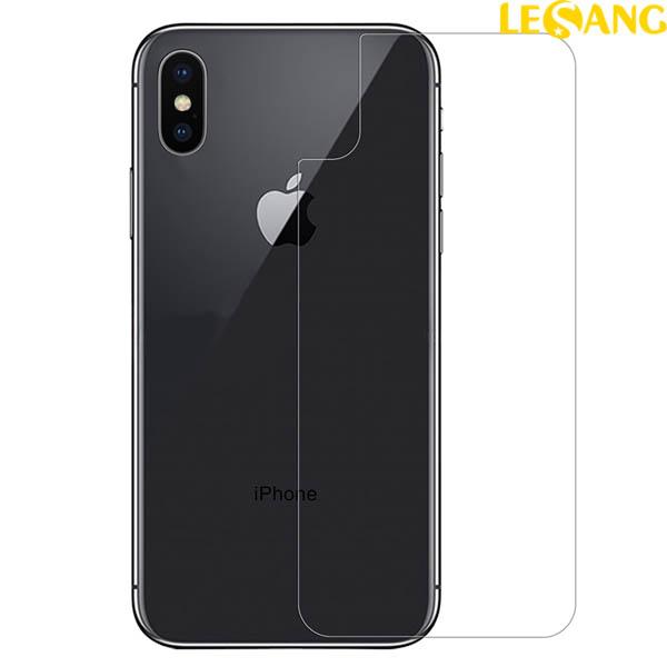 Dán kính cường lực mặt sau iPhone X / iPhone 10 Nillkin Amazing 9H