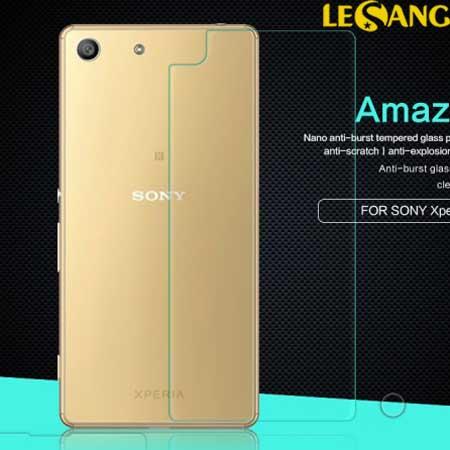 Dán kính cường lực mặt sau Sony M5 Dual Nillkin Amazing