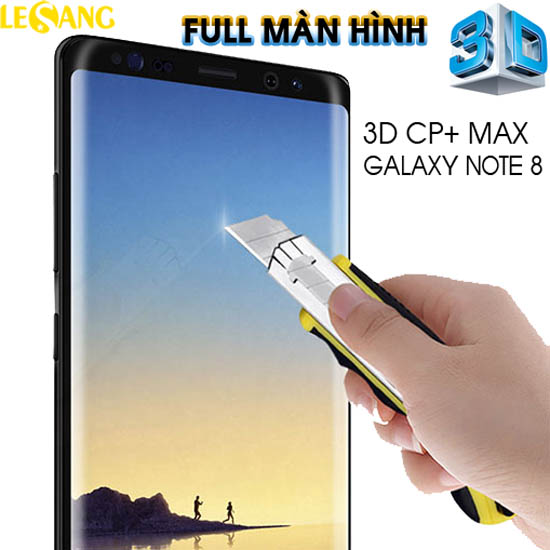 Dán kính cường lực Note 8 Nillkin CP+ Max 3D Full màn hình