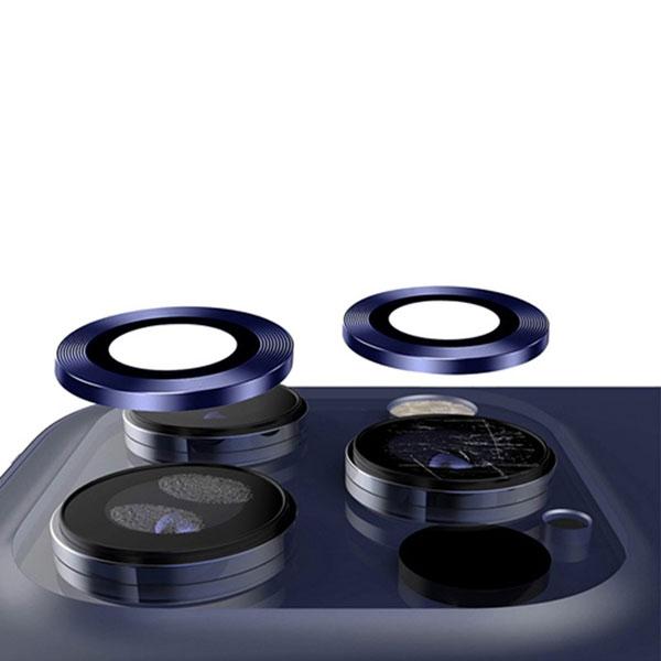 Miếng dán Camera iPhone 12 / iPhone 11 Zeelot bằng Titanium và kính cường  lực Corning