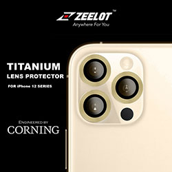 Miếng dán bảo vệ Camera iPhone 12 / 12 Mini / 11 Series Zeelot Titanium cường lực