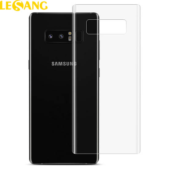 Miếng dán Full mặt sau Galaxy Note 8 trong suốt