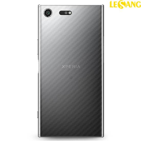 Miếng dán mặt sau Sony XZ Premium vân Carbon