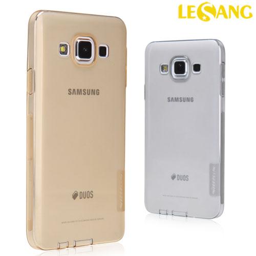 Ốp lưng Galaxy A3 Nillkin nhựa dẻo trong suốt 0.6mm