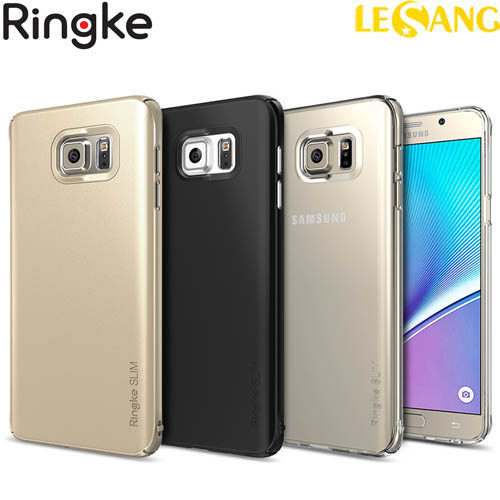 Ốp lưng Galaxy Note 5 Ringke Slim 360