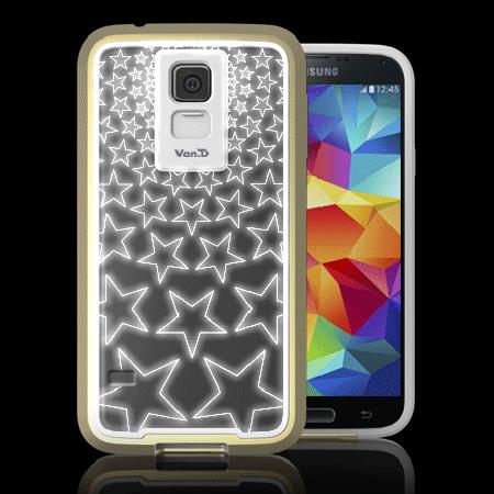 Ốp lưng Galaxy S5 Van.D Phát Quang