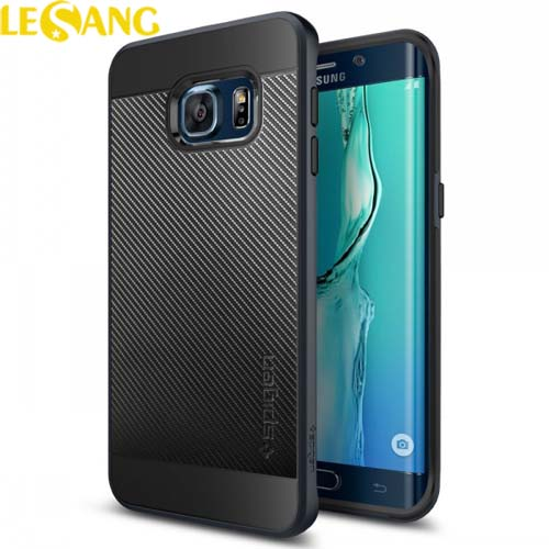 Ốp lưng Galaxy S6 Edge Plus SGP Neo Hybrid Carbon