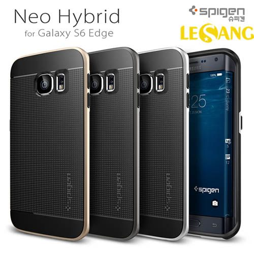Ốp lưng Galaxy S6 Edge SGP (Spigen) Neo Hybrid (USA)