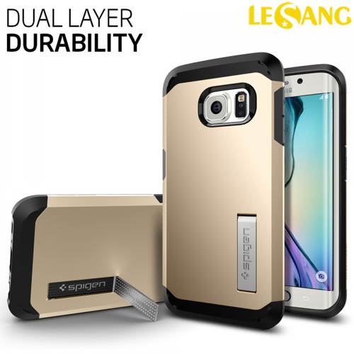 Ốp lưng Galaxy S6 Edge SGP (Spigen) Tough Armor