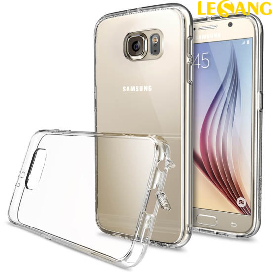 Ốp lưng Galaxy S6 Ringke Fusion trong suốt (USA)