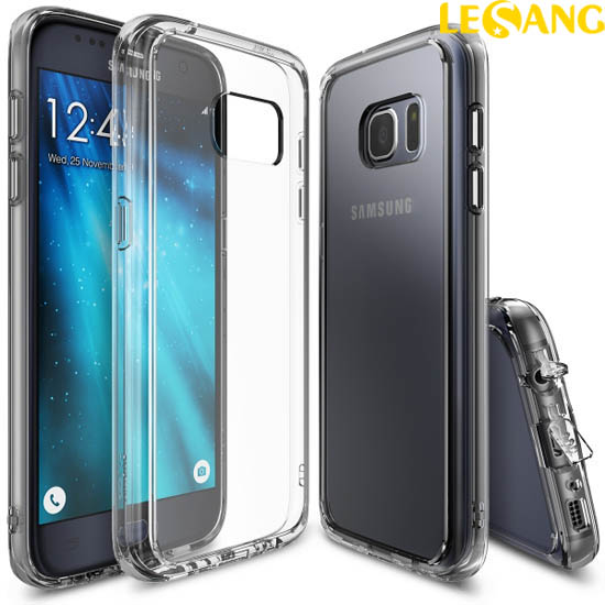 Ốp lưng Galaxy S7 Ringke Fusion trong suốt (USA)