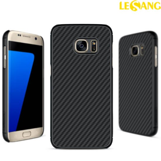 Ốp lưng Galaxy S7 Nillkin Synthetic Fiber Green Carbon