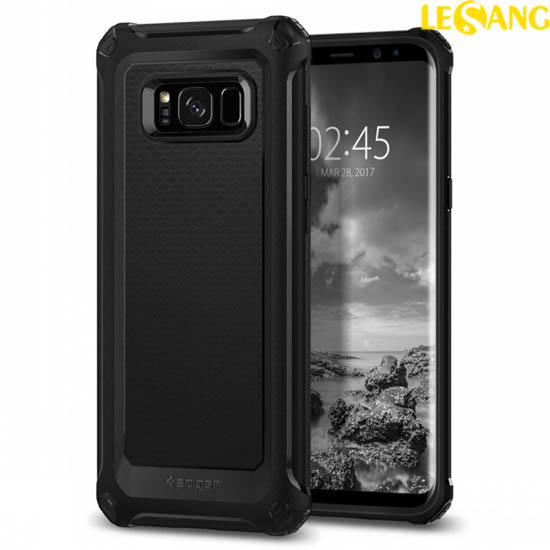 Ốp lưng Galaxy S8 Plus Spigen Rugged Extra