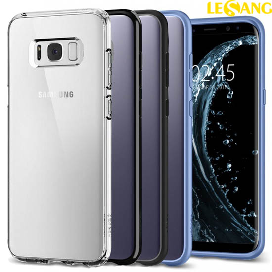 Ốp lưng Galaxy S8 Spigen Ultra Hybrid Crytal trong suốt