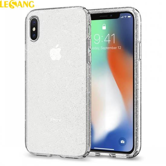 Ốp lưng iPhone 10 / iPhone X Spigen Liquid Glitter lấp lánh kim tuyến