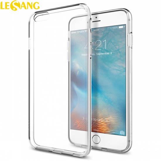 Ốp lưng iphone 6S Plus Spigen Liquid Crytal nhựa mềm TPU