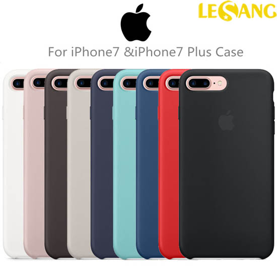 Ốp lưng iphone 7 Plus Apple Case Silicon chính hãng (Full Box)