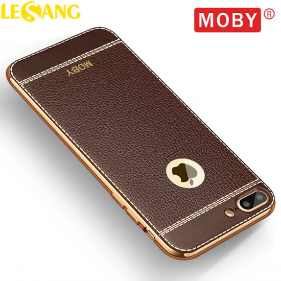 Ốp lưng iphone 8 Plus / 7 Plus Moby Leather Case