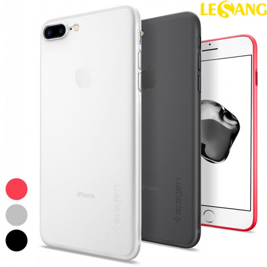 Ốp lưng iphone 7 Plus Spigen Air Skin 0.4mm