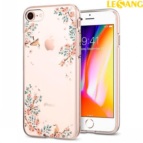 Ốp lưng iPhone 8 / iPhone 7 Spigen Liquid Crystal Blossom