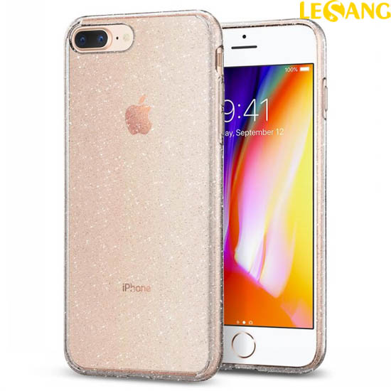 Ốp lưng iPhone 8 Plus / 7 Plus Spigen Liquid Crystal Glitter
